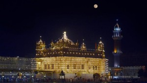 Supermoon and the Golden Temple